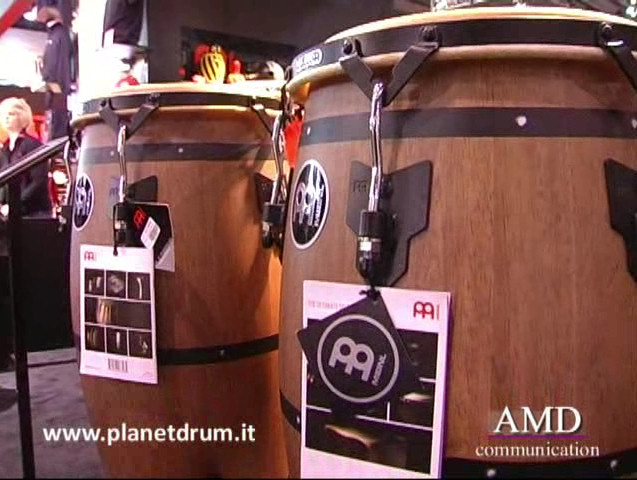 Musikmesse2012 MeinlPercussion NewCongasDesign