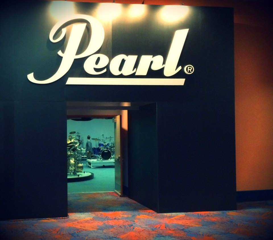 NAMM2014 Pearl entrance