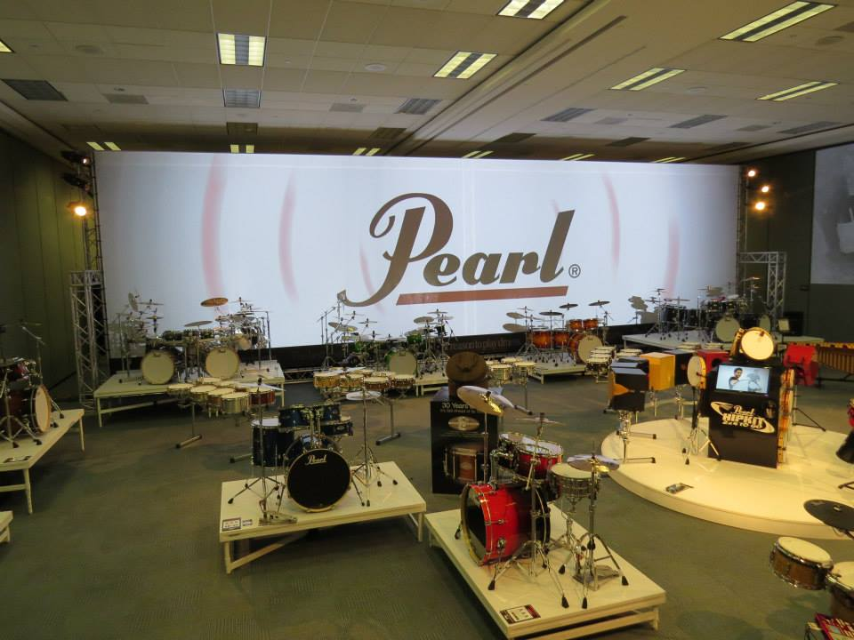 NAMM2014 Pearl stand