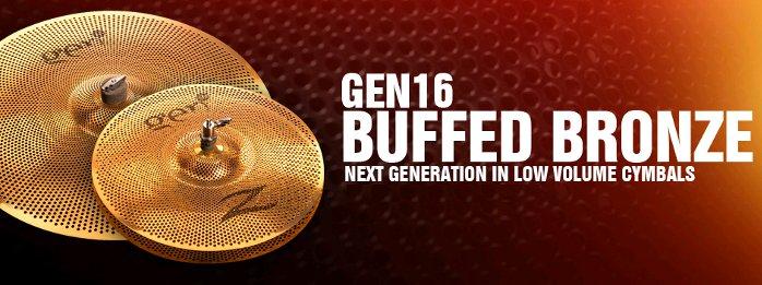 NAMM2014 Zildjian GEN16-Buffed-Bronze