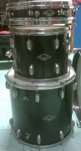 Zin drums vertical