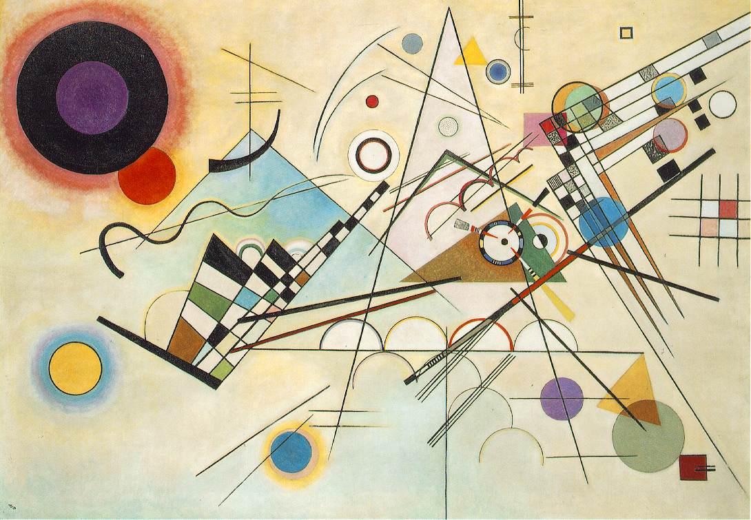 Vassily Kandinsky 1923 Composition