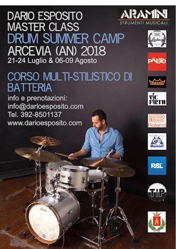 DarioEsposito DrumSummerCamp2018