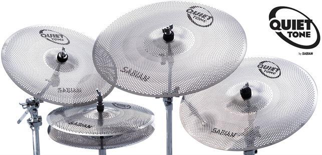 Sabian Quiet Tone Practice cymbals 1