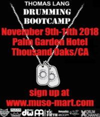 Thomas Lang Drumming Bootcamp 2018