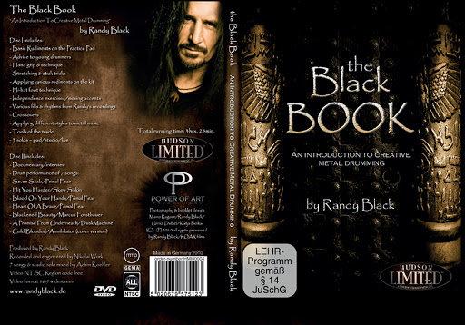 Randy Black: The Black Book Creative Metal Drumming