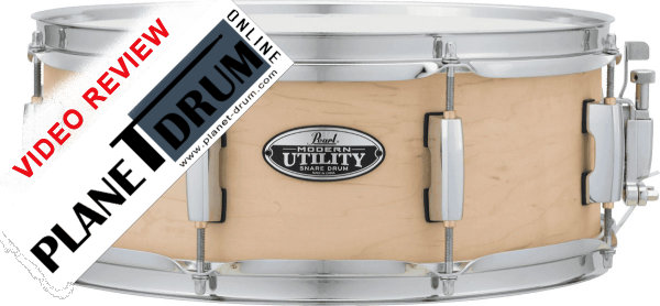 """Pearl Modern Utility 14""""X5.5"""" Snare Drum"""