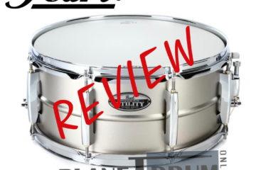 "Pearl Modern Utility 14""X5.5"" Steel Snare Drum"