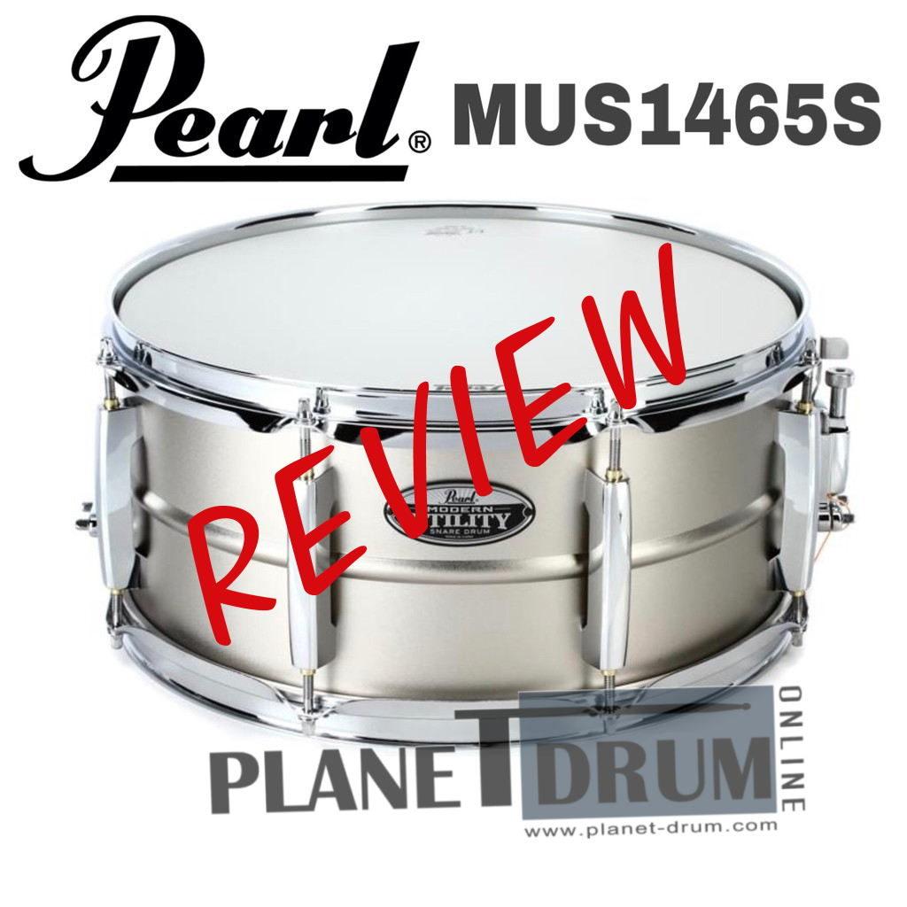 "Pearl Modern Utility 14""X6.5"" Steel Snare Drum"