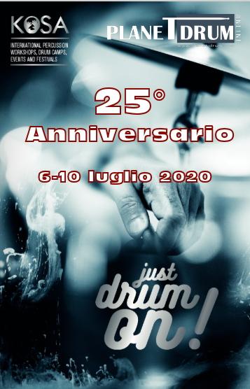 KoSA Drum Camp 25th anniversary