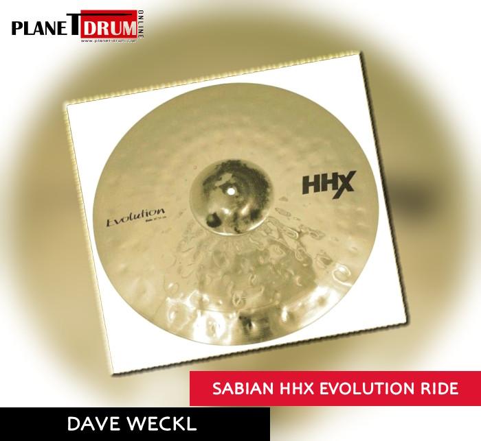 Sabian HHX Evolution Ride