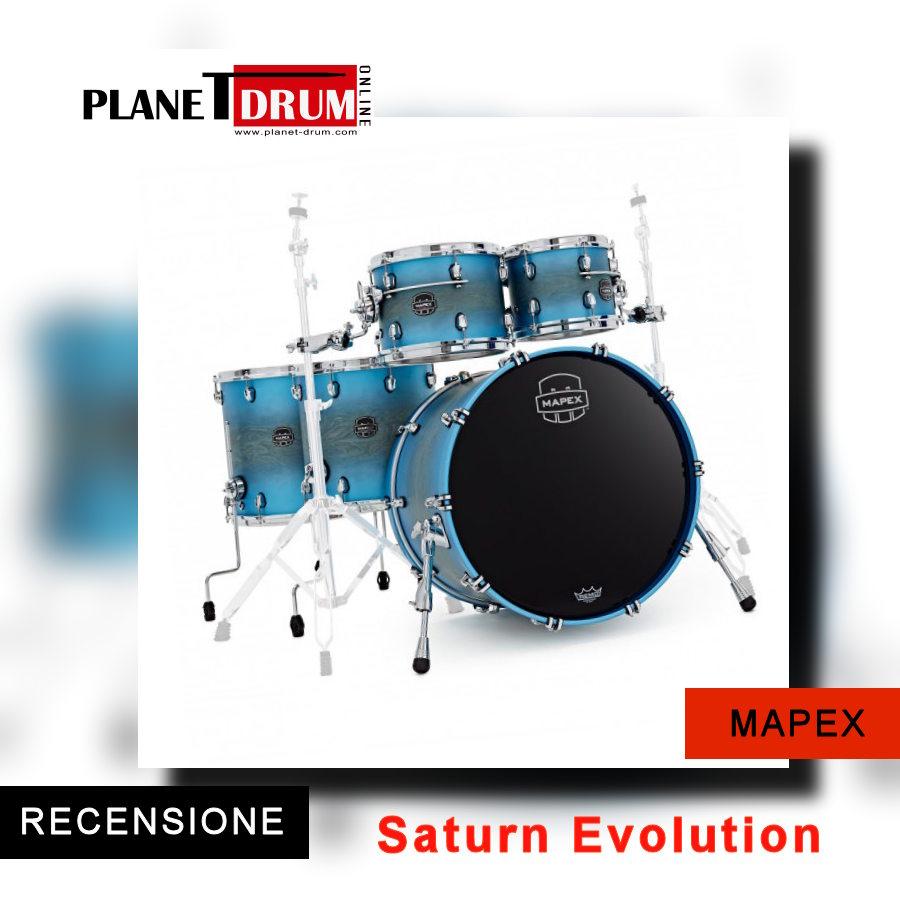 Mapex Saturn Evolution Maple Exotic Azure Burst