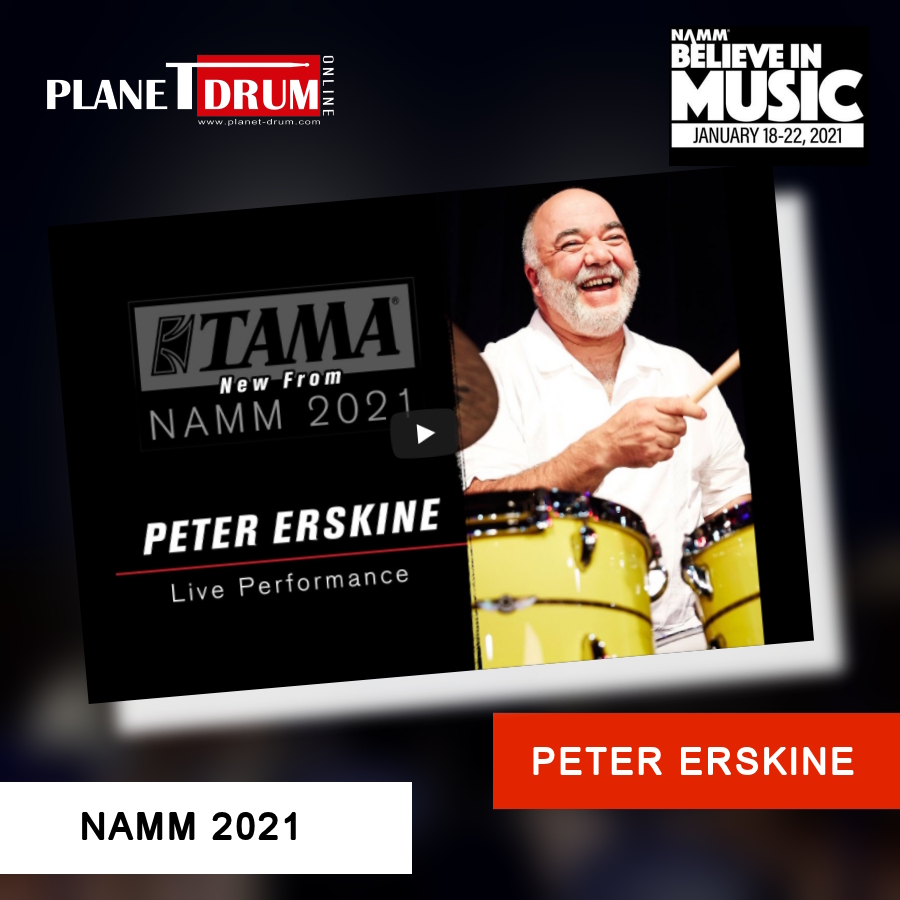 Peter Erskine Livestream Performance
