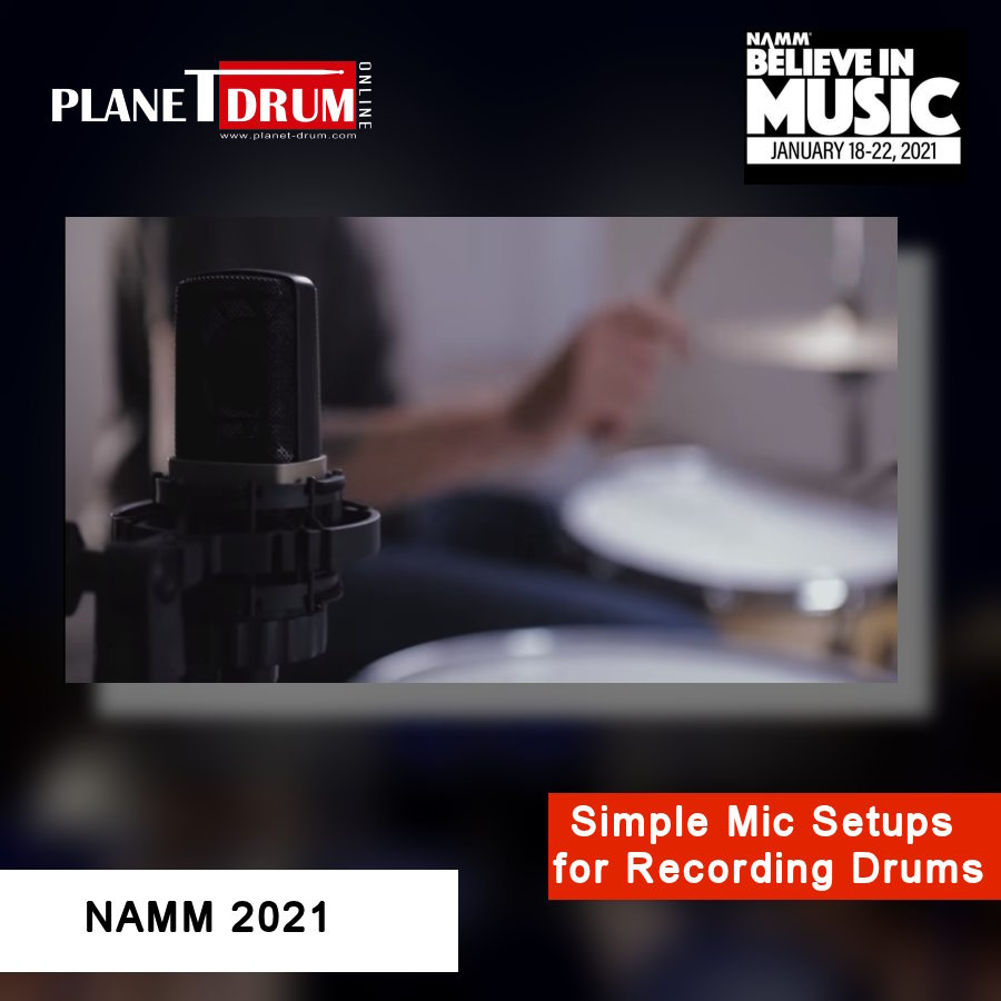 Simple Mic Setups for Recording Drums