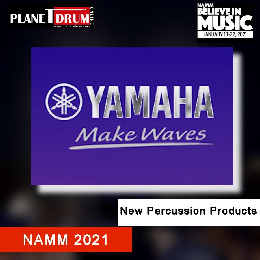 NAMM 2021 - New Yamaha Percussion Products