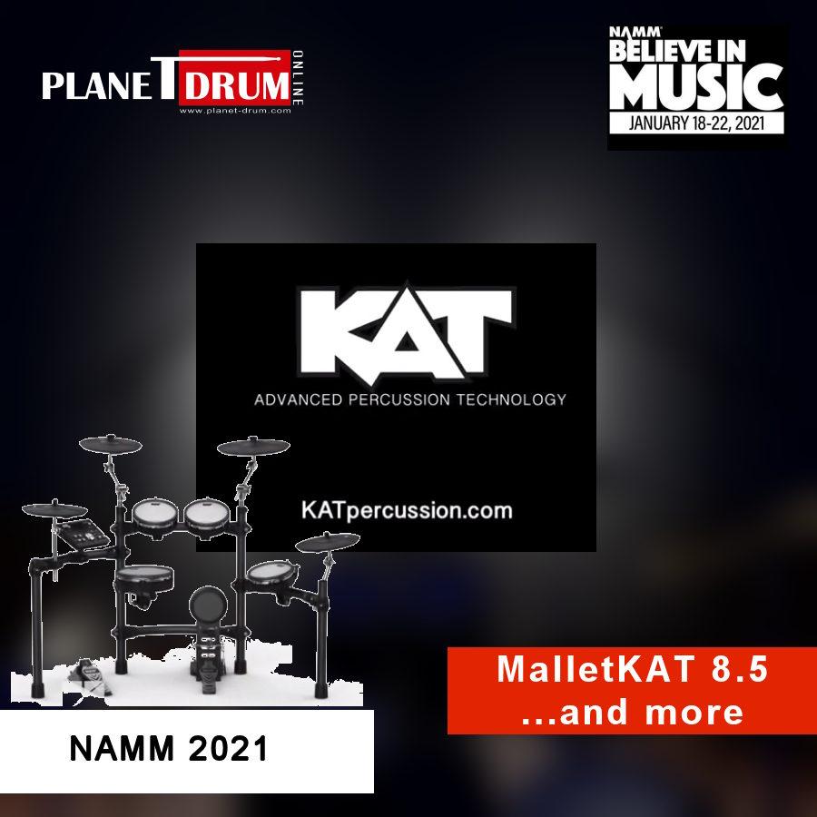 NAMM 2021 - KAT MalletKAT 8.5