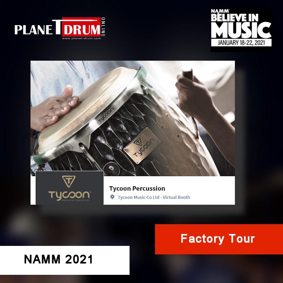 NAMM 2021 - Tycoon Factory Tour