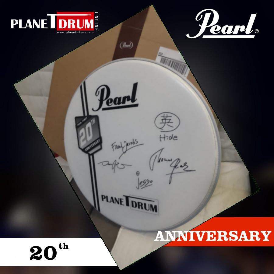 Pearl Drums e Planet Drum 20 anni insieme
