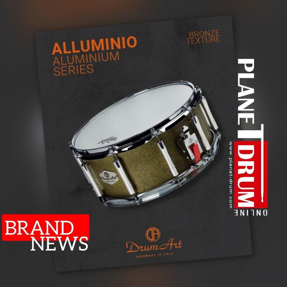Alluminio Texture Bronze