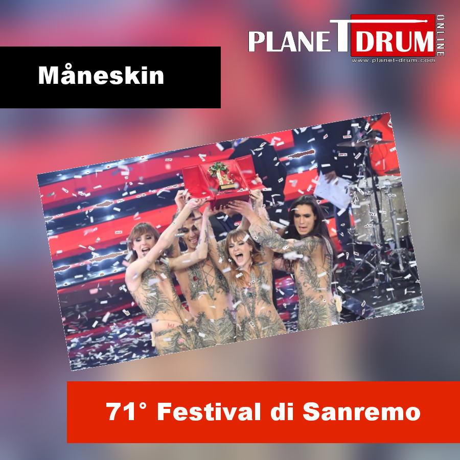 Måneskin da X-Factor alla conquista di Sanremo 2021