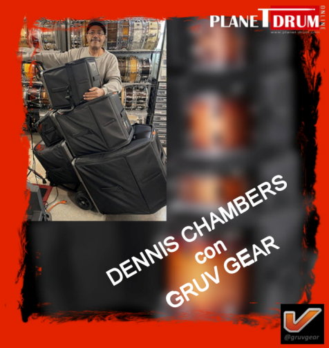 Dennis Chambers Endorses Gruv Gear
