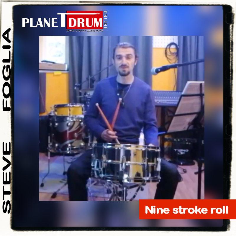 Nine stroke roll