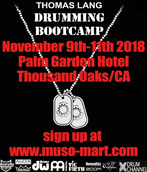 ThomasLang DrummingBootcamp2018