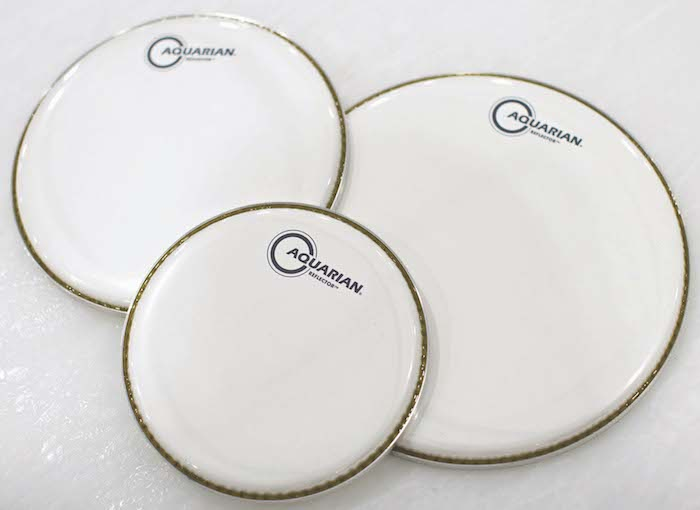 Aquarian Ice White Reflector Series