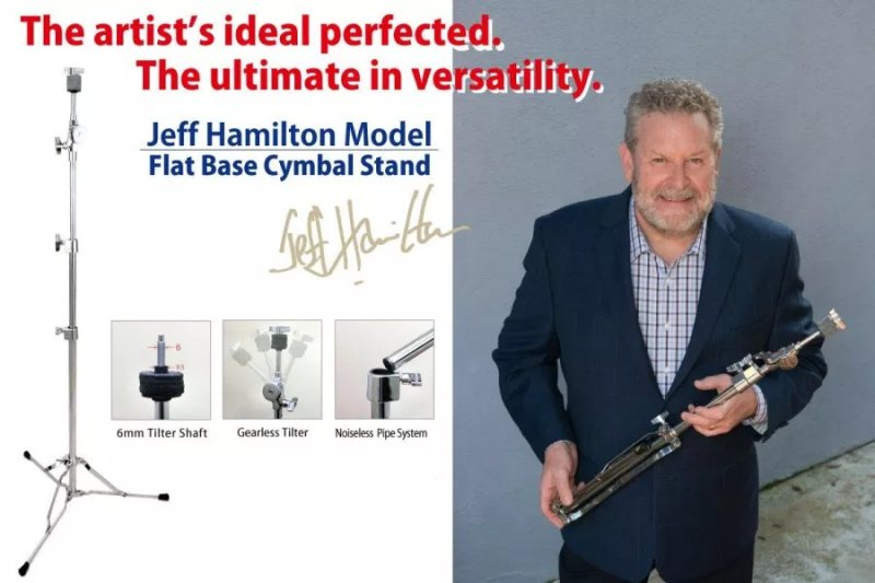 Jeff Hamilton-Canopus-cymbal-stand