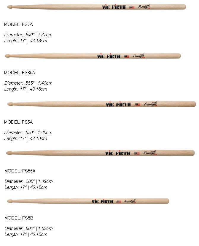 VicFirth Freestyle concept