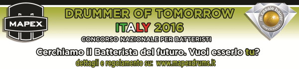 Drummer of Tomorrow ITALY 2016